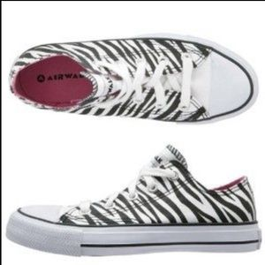 Airwalk Zebra Sneakers - Black & White